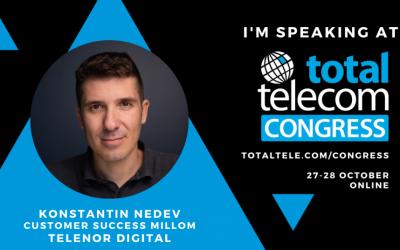 Millom speaking at Total Telecom Congress