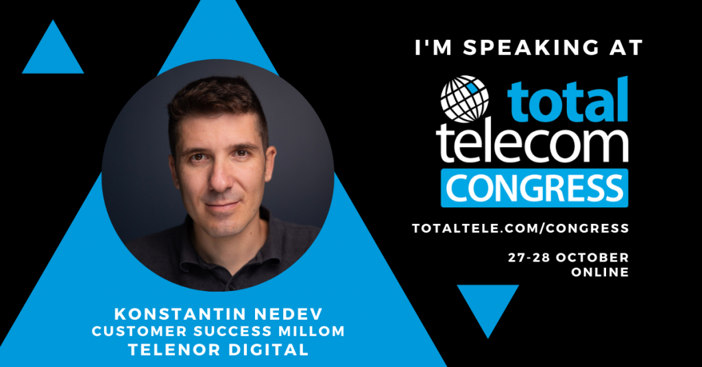 Millom speaking at Total Telecom Congress