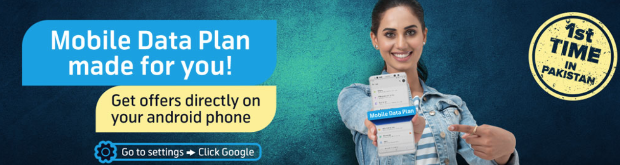 Telenor Pakistan first with Mobile Data Plan